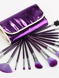 16 Mountain Wool Make Up Brushes Make-up Brush Sets