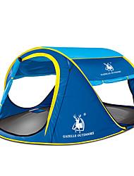 徽羚羊 3-4 personnes Abri et Toile Unique Tente automatique Une pièce Deux pièces Trois pièces Tente de camping Fibre de verreEtanche
