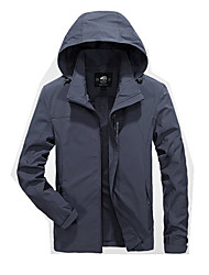 Men's Jacket Waterproof Windproof Breathable Comfortable Spring Fall/Autumn