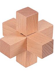 Quebra-cabeças Bloqueio Luban Blocos de construção Brinquedos Faça Você Mesmo Madeira Brinquedos Criativos & Pegadinhas