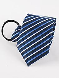 Cravatta a zip di griglia di affari di svago