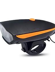 Luces para bicicleta Luz Frontal para Bicicleta LED Ciclismo Fácil de Transportar Batería de Litio Con 250 Lumens USB Rojo BlancoCiclismo