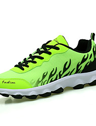 Running Shoes Men's Athletic Shoes Comfort Tulle Casual Office & Career  Comfort Black Gray Ruby Green Flat