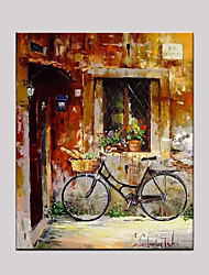 Hand-Painted Still Life Horizontal,Mediterranean European Style One Panel Canvas Oil Painting For Home Decoration