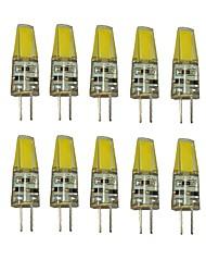 1.5w g4 led luci bi-pin t 1 cob 100-150 lm bianco caldo bianco bianco freddo 12 v 10 pezzi
