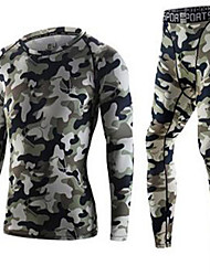 Men's Short Sleeve Running Breathable Comfortable Summer Sports Wear Exercise & Fitness Polyester