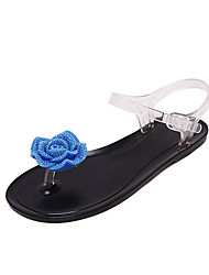 Women's Sandals Summer Light Soles PVC Casual