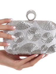 L.WEST Woman Fashion Diamonds The Embroidery Evening Bag