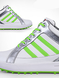 Casual Shoes Golf Shoes Women's Anti-Slip Anti-Shake/Damping Cushioning Breathable Wearproof Performance Outdoor High-Top RubberLeisure