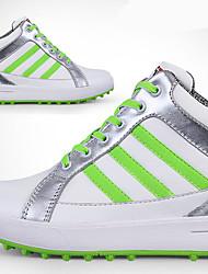 Повседневная обувь Обувь для игры в гольф Жен. Противозаносный Anti-Shake Амортизация Дышащий Износостойкий Выступление Высокое голенище