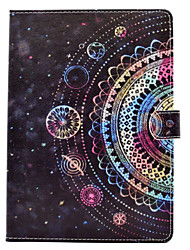 For iPhone iPad (2017) iPad Pro 9.7'' PU Leather Material Starry Sky Pattern Painted Flat Protective Cover iPad Air 2 Air iPad 2 / 3 / 4