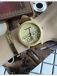 Luxury Brand Bamboo Watches Relogio Masculino Wood Wristwatch Quartz Fashion Watch Leather Clock