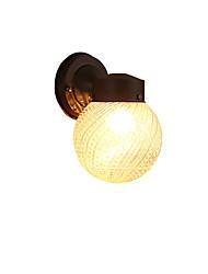 Moderno / preto contemporâneo acabamento de óxido para mini estilo lâmpada includedambient luz parede sconces