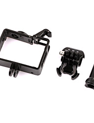 Protecteur de cas de protection border mount pour gopro hero 3/3/4