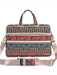 13,3 14,1 15,6 дюймовый ретро богемный ноутбук ноутбук сумка с ремнем ручная сумка для поверхности / dell / hp / samsung / sony и т.д.