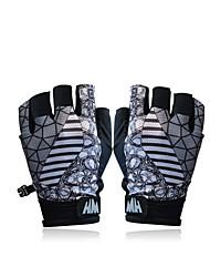 Gloves Sports Gloves Women's Men's Cycling Gloves Summer Bike Gloves Breathable Sunscreen Fingerless Gloves Spandex Pink Cycling/Bike