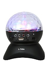 Luces LED Para Escenarios Bola mágica de la luz del LED Party Disco Club DJ Mostrar Lumiere LED Cristal Luz Proyector láser 9W - - -