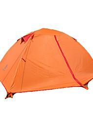2 Pessoas Tenda Único Tenda Automática Um Quarto Barraca de acampamento >3000mm Fibra de Vidro OxfordÁ Prova de Humidade Prova-de-Água Á