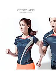 Homens Mulheres Conjunto Camiseta e Calça de Corrida Secagem Rápida Confortável Camiseta + Calça de Corrida paraExercício e Atividade