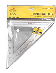 Hold® 180 mm 90 graus l forma inox triângulo régua ferramenta