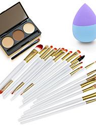 Crayons à SourcilsHouppette/Eponge Pinceaux de Maquillage Sec Yeux Visage Autre