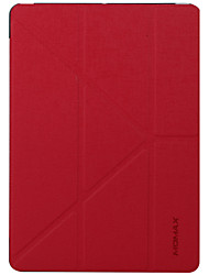Назначение Чехлы панели со стендом С функцией автовывода из режима сна Флип Оригами Чехол Кейс для Сплошной цвет ТвердыйИскусственная