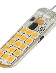 G4 Luminárias de LED  Duplo-Pin T 30 SMD 2835 200-300 lm Branco Quente Branco Frio Regulável V 1 pç