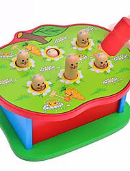 Brinquedo Educativo para presente Blocos de Construir Madeira 2 a 4 Anos 5 a 7 Anos Brinquedos
