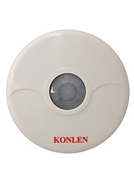 Microwave Wired Passive Infrared Pir Sensor Motion Detector 360 Degree Ceiling Mount Normal Closed Alarm Contact