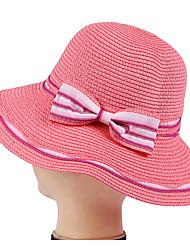 Bowknot Fisherman Caps Bucket Hats Caps Folding Outdoor Beach Tourism Wide Brim Straw Hat Women Sun Cap