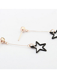 American Stars Earrings Drop Long Hypoallergenic Geometric