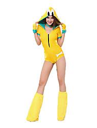 Costumes de Cosplay Animal Fête / Célébration Déguisement d'Halloween Autres Collant/Combinaison Gants Jambières Echarpe Halloween Féminin