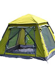 3 a 4 Personas Tienda Tienda con pantalla protectora Solo Carpa para camping Tienda de Campaña Automática A Prueba de Humedad Impermeable