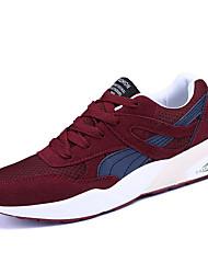 Da uomo-Sneakers-Casual-pattini delle coppieTulle-Nero Grigio Rosso