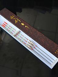 1 Stück Angel Sets Braun Elfenbeinfarbig 2 g/1/10 Unze,1 mm Zoll,Holz Angeln Allgemein