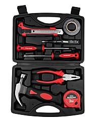 Workpro® w00010002 Ensemble d'outils de réparation pour kit d'outils domestiques 9pc