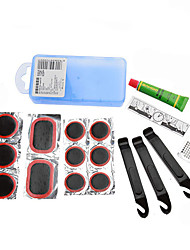 Sahoo® bicicletta riciclaggio pneumatici kit di riparazione kit kit reparo mtb ciclismo accessorie