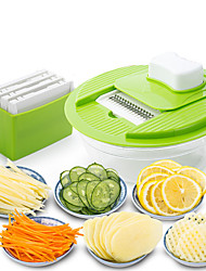 Mandoline Vegetable Slicer Dicer Fruit Cutter Slicer With 4 Interchangeable Stainless Steel Blades Potato Slicer Tools