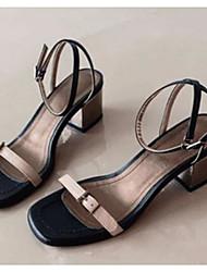 Женские босоножки весенние клубные туфли pu casual миндальный синий