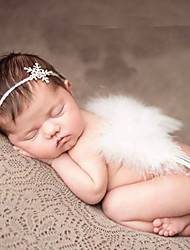 Newborn Baby's Modelling of the Angel  Photographic cloths Headwears