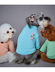 Собака Свитера Одежда для собак На каждый день Мода Носки детские Зеленый Синий Розовый