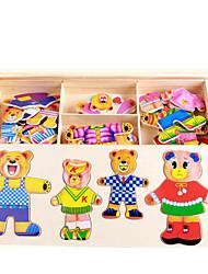Quebra-cabeças Kit Faça Você Mesmo Quebra-Cabeça Brinquedos de Lógica & Quebra-Cabeças Blocos de construção Brinquedos Faça Você Mesmo
