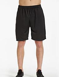 Homens Corrida Shorts Respirável Confortável Poliéster Roupas para Lazer Roupas Esportivas