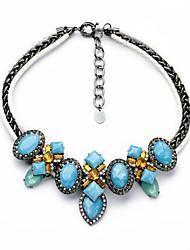 Femme Pendentif de collier Forme Ovale Formé Carrée Original Personnalisé Bijoux Pour Décontracté