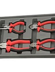 Jtech braçadeira de 4 pinos tipo mola tipo fixação material cromo vanádio liga