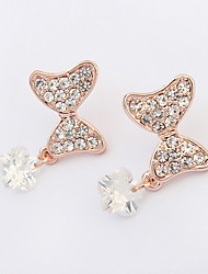 Earrings Jewelry Euramerican Fashion Personalized Gem Resin Alloy Jewelry Jewelry For Wedding Special Occasion 1 Pair