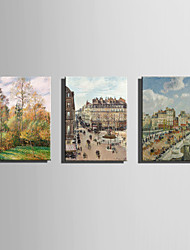 The Logicians Oil Painting Engraved Canvas Print Wall Art Camille Pissarro 1 Multi Style Selection