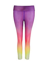 Damen Laufhosen Rasche Trocknung Atmungsaktiv Unten für Yoga Übung & Fitness Laufen Modal Polyester Schlank S M L XL XXL