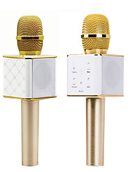 Unbranded Wireless Karaoke Microphone USB Gold