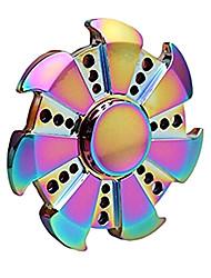 Fidget spinner -stressilelu hand Spinner Lelut rengas Spinner Metalli EDCLievittää ADD, ADHD, ahdistuneisuus, Autism Killing Time Focus